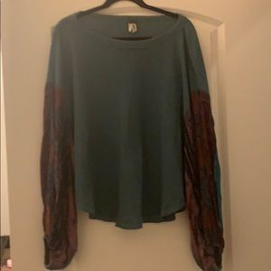 Free People Blossom Thermal top